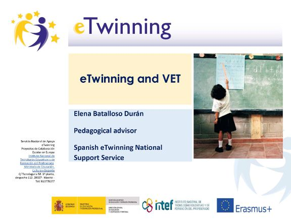 eTwinning and VET