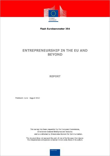 Entrepreneurship in the EU and beyond