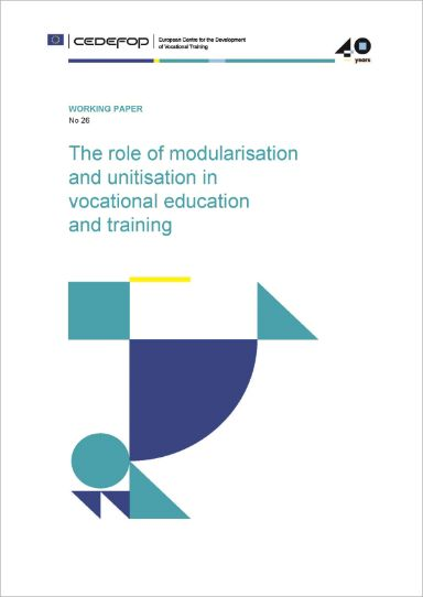 The role of modularisation and unitisation in vocational education and training
