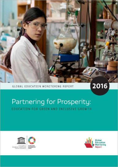 Partnering for Prosperity: Education for green and inclusive growth (2016)