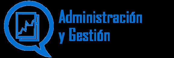Icono familia profesional Administración y Gestión