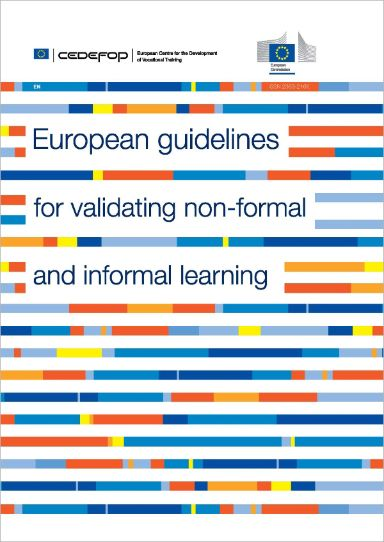 European guidelines for validating non-formal and informal learning.