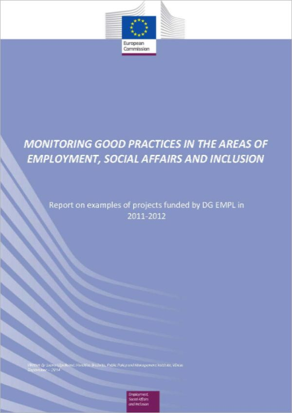 Monitoring Good Practices in the Areas of Employment, Social Affairs and Inclusion