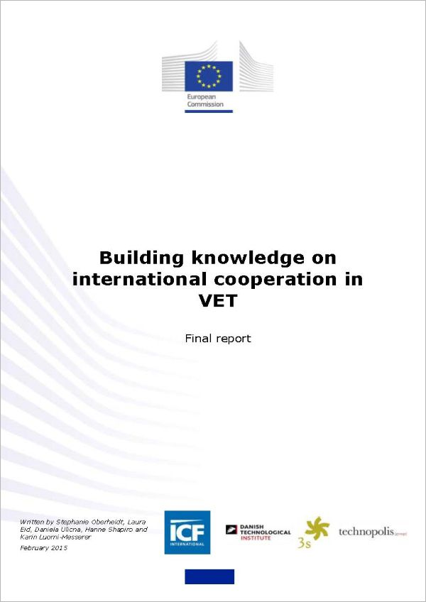 Building knowledge on international cooperation in VET. Final report (2017)