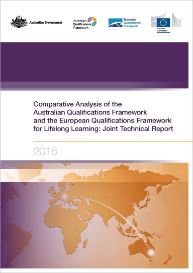 Comparative Analysis of the Australian Qualifications Framework and the European Qualifications Framework for Lifelong Learning: Joint Technical