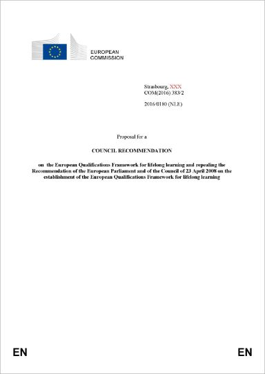 Proposal for a Council Recommendation on the European Qualifications Framework for lifelong learning