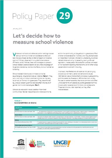 Let's decide how to measure school violence (2017)