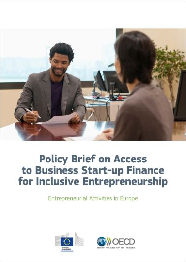 Policy Brief on Access to Business Start-up Finance for Inclusive Entrepreneurship