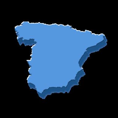 Centros del territorio nacional