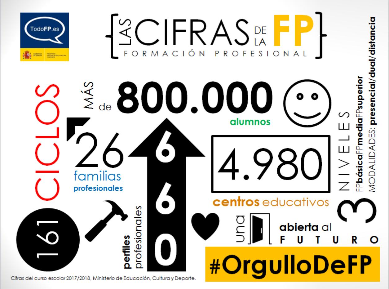 Las cifras de la FP
