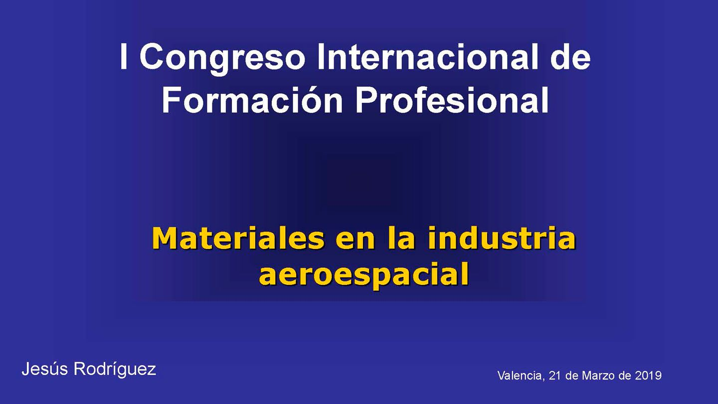Materiales en la industria aeroespacial